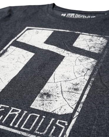 Mr.Serious eroded logoT-shirt