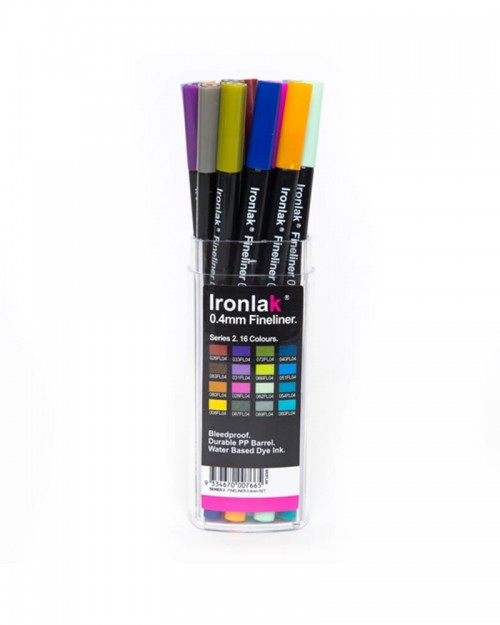 IRONLAK Fineliner 0.4 Series 2