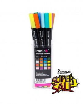 IRONLAK Fineliner 0.4 Series 1