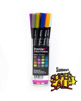 IRONLAK Fineliner 0.4 Series 2