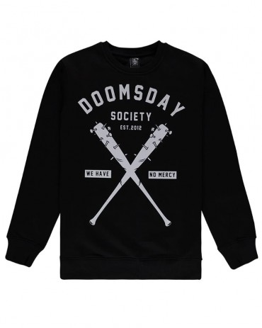 DOOMSDAY - NO MERCY CREWNECK BLACK