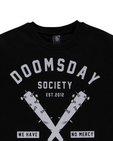 DOOMSDAY - NO MERCY T SHIRT BLACK