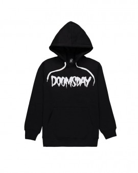 DOOMSDAY - LOGO HOODIE BLACK