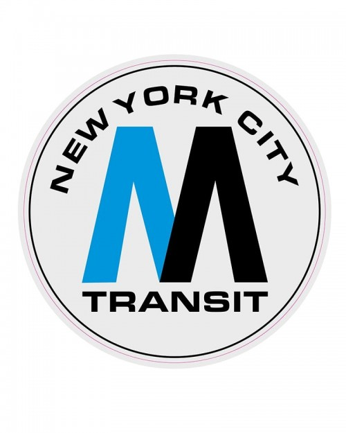 OTR Magnets - NYC MTA Logo XXL