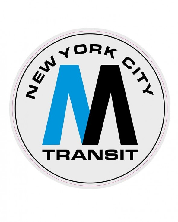 OTR Magnets - NYC MTA Logo XXL