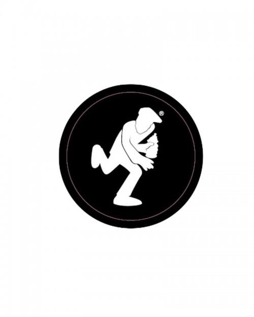 OTR Magnets - Logo OTR Running man White Mini
