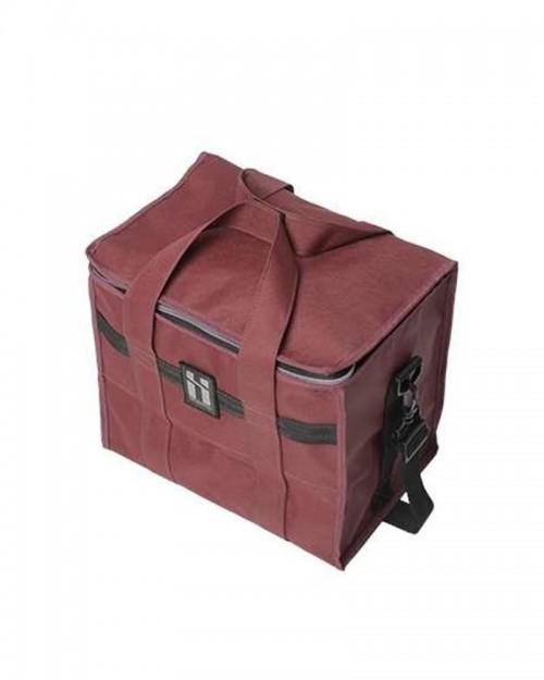 MR. SERIOUS 12 PACK SHOULDER BAG MAROON RED