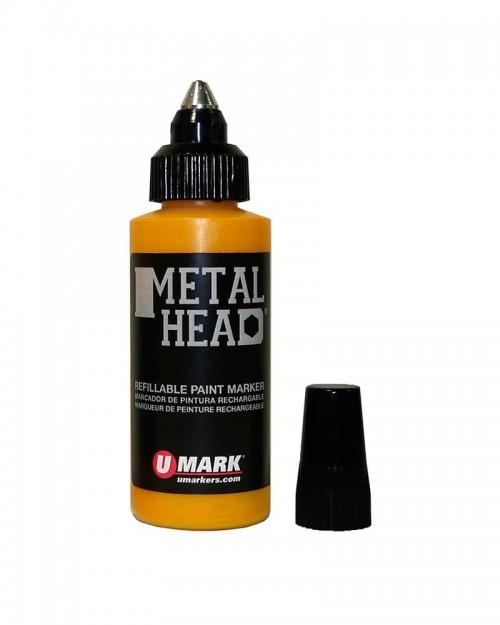 U-Mark Metalhead® Refillable Paint Marker