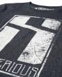 Mr.Serious eroded logo Sweatshirt