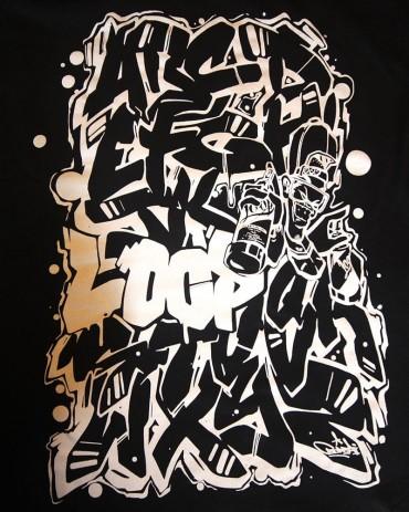 Loopcolors Shirt Bonzai Alphabet