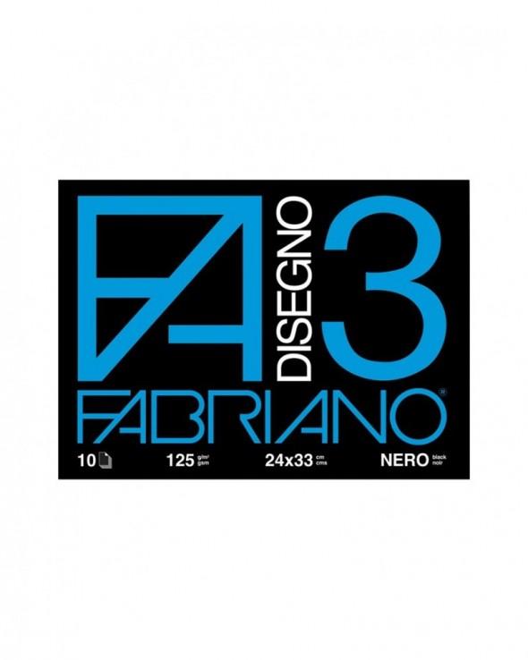 Album Fabriano Disegno 3 Nero
