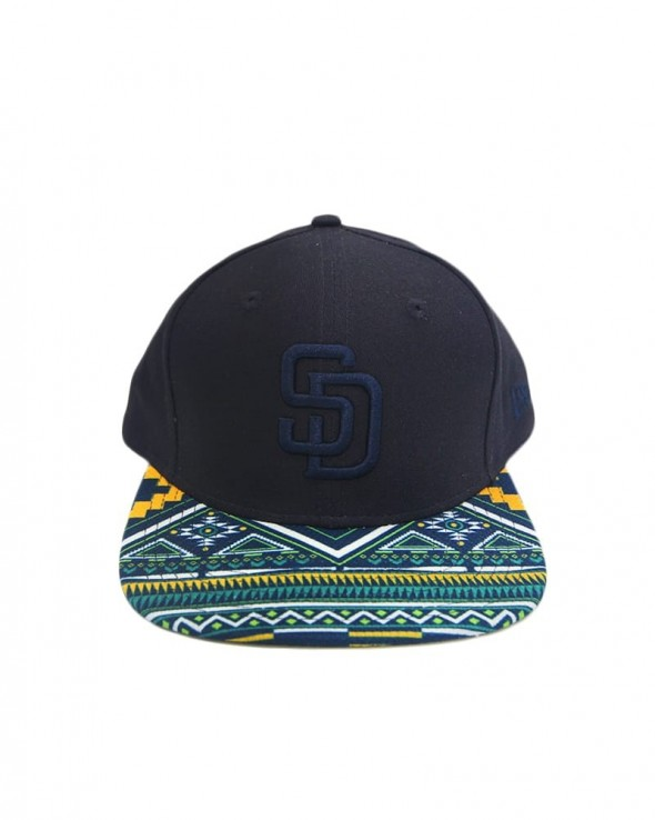 NEW ERA West Coast Visor Snapback San Diego Padres