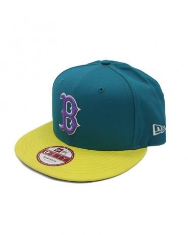 NEW ERA Boston Red Sox Tricol Basic 9Fifty Snapback