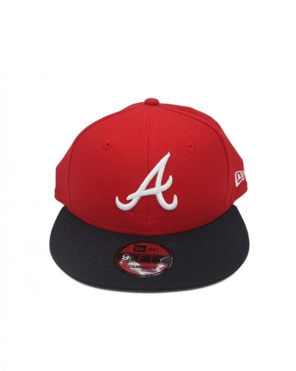 NEW ERA 9FIFTY Atlanta Braves Snapback Cap - Diamond Era