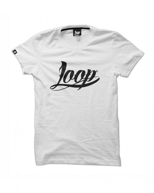 Loop x Wrung TShirt OG LOGO White