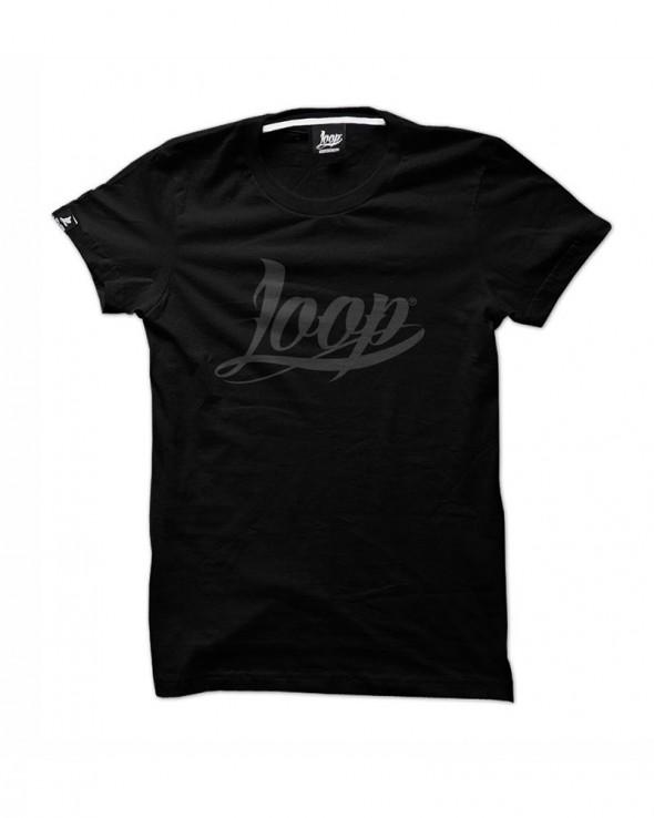 Loop x Wrung TShirt OG LOGO Black