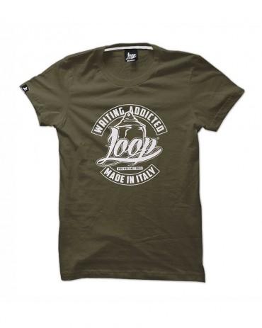 Loop x Wrung TShirt TOOLS Khaki