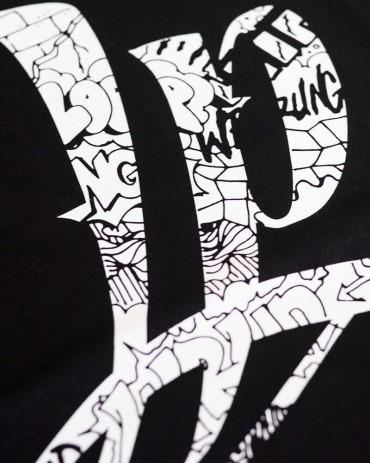 Loop x Wrung FREESTYLE T-shirt Black
