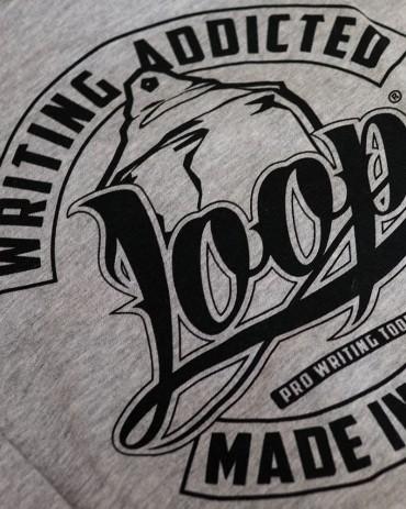 Loop x Wrung PRO WRITER Zip Hoodie Grey
