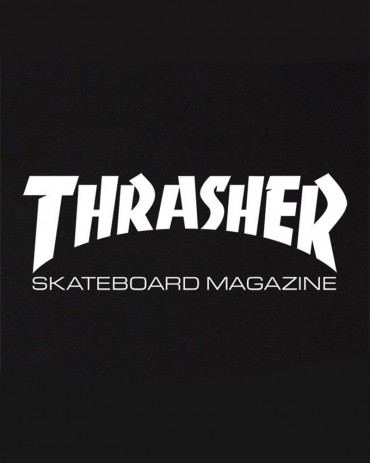 Thrasher Skate Magazine T-shirt Black