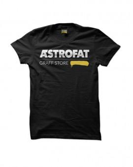 ASTROFAT Graff Store Tshirt Black