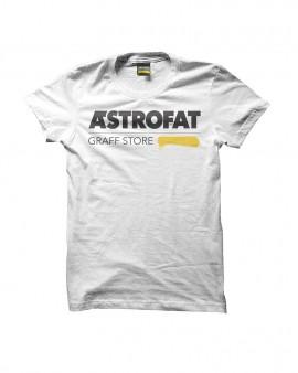 ASTROFAT Graff Store Tshirt White