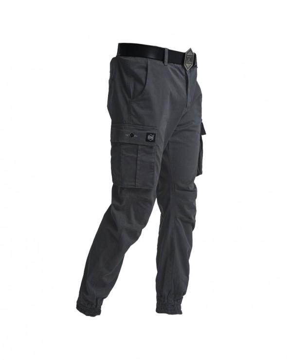 DOLLY NOIRE Pantaloni Cargo Antracite