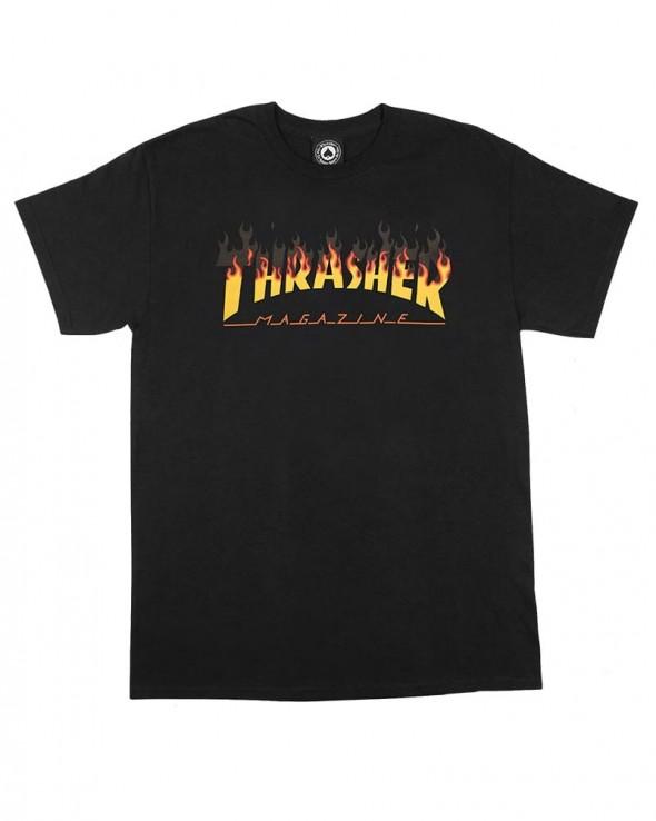 Thrasher BBQ T-shirt Black