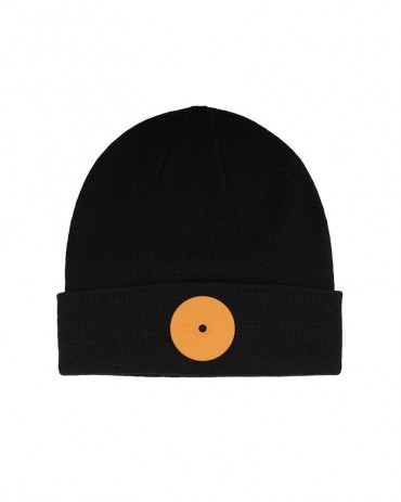 Mr.Serious Orange Medium Fat Beanie