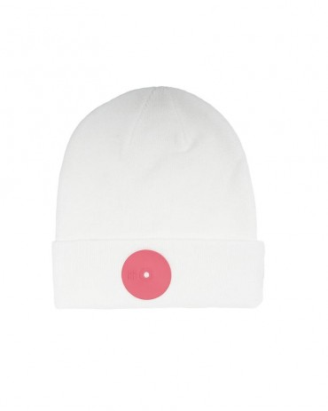 Mr.Serious Pink Dot Beanie