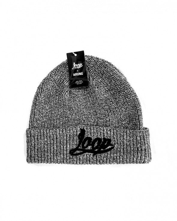 LOOP Base Logo Beanoe Grey