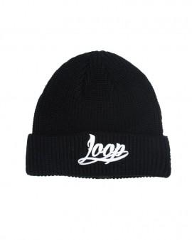 Loop x Wrung Base Logo Beanie Black