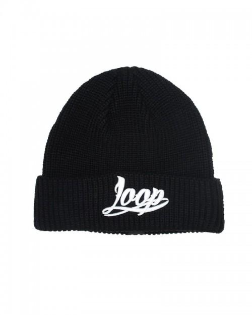 Wrung x Loop Base Logo Beanie Black