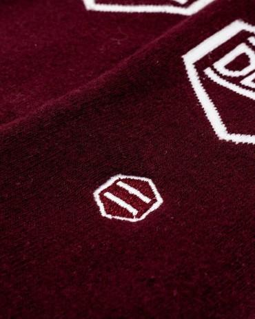 DOLLY NOIRE Calze Logo Bordeaux