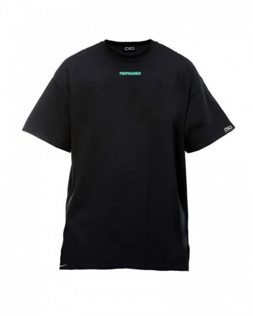 PROPAGANDA Tshirt Ribs Turquoise