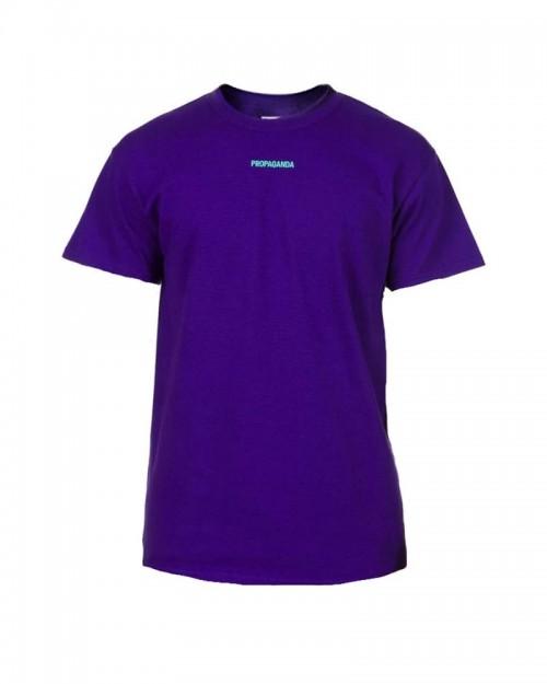 PROPAGANDA Tshirt Ribs Purple