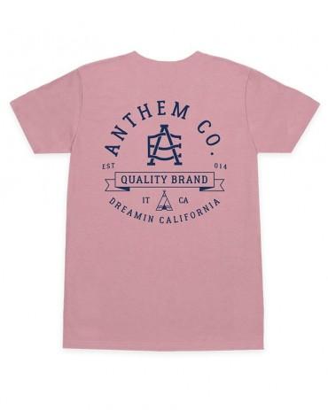 ANTHEM Note Tee Pink