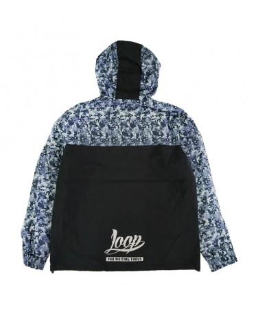Loop x Wrung Camo Blue Windbreaker