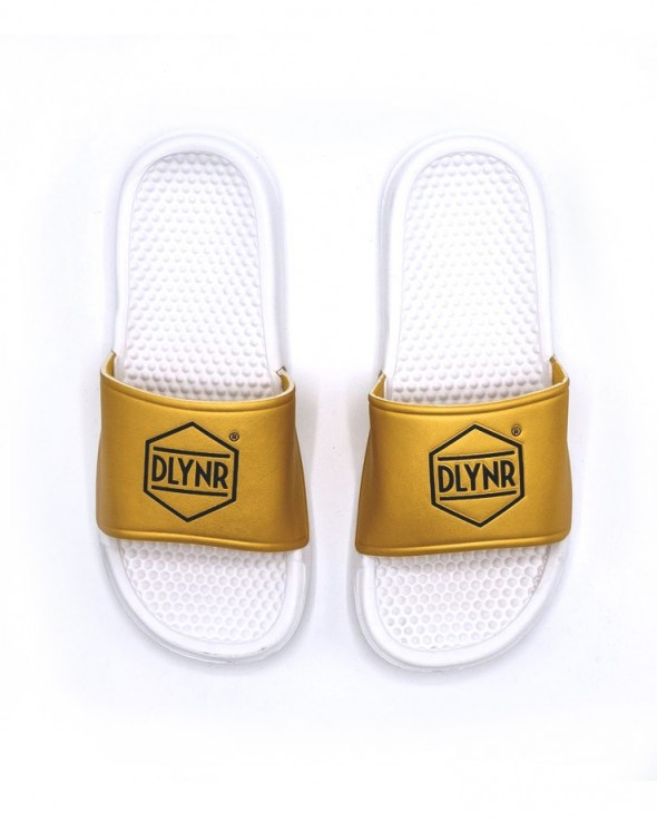 DOLLY NOIRE Slippers Gold