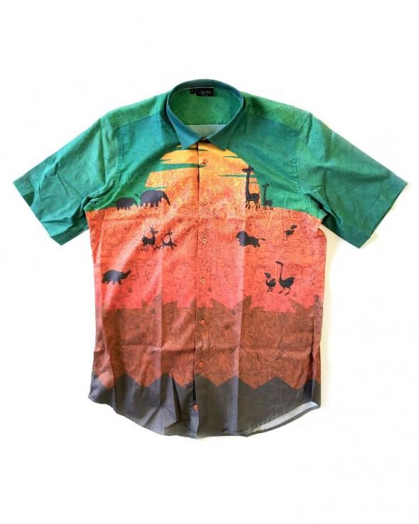 DOLLY NOIRE Camicia Safari Sunset