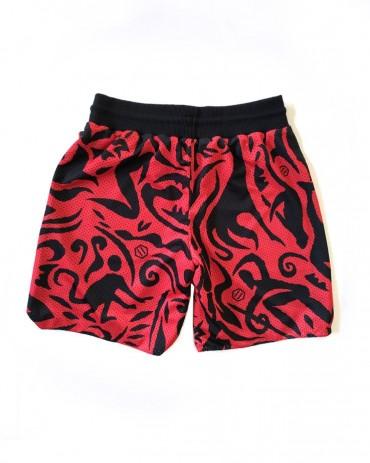 DOLLY NOIRE Reversible Basket Shorts