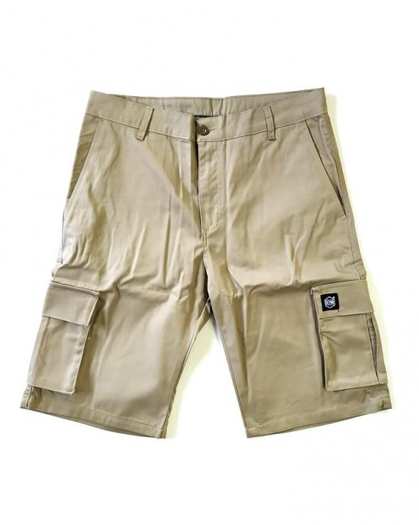DOLLY NOIRE Beige Cargo Shorts