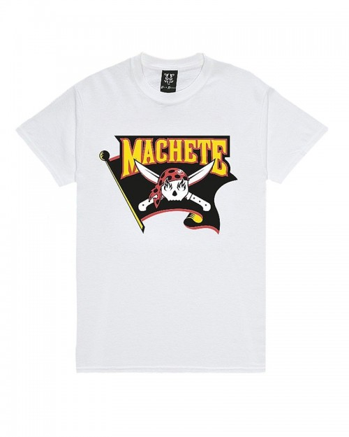Machete Ghost Pirates White T-shirt