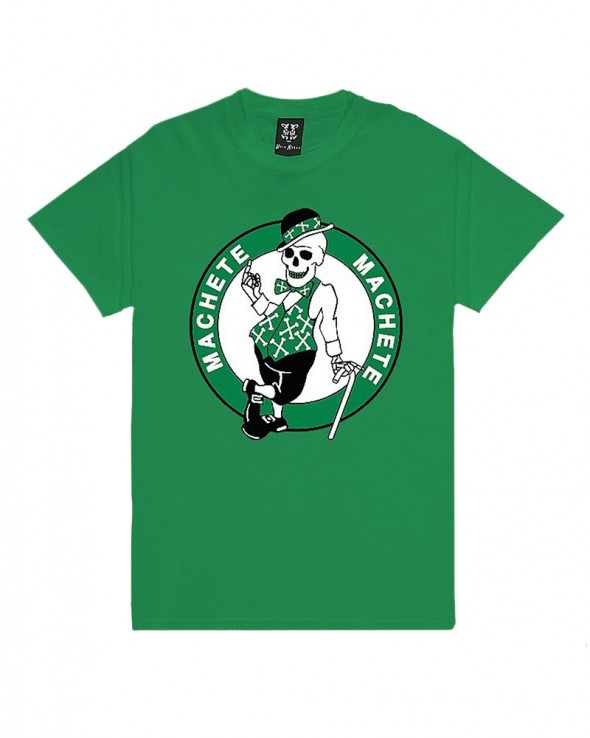Machete Bones Celtics Green T-shirt