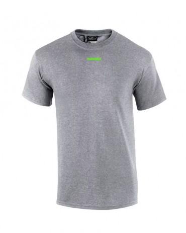 PROPAGANDA Tshirt Ribs Grey & Fluo Green
