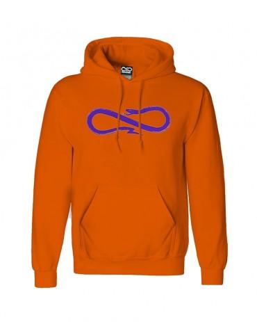 PROPAGANDA Hoodie Orange and Violet