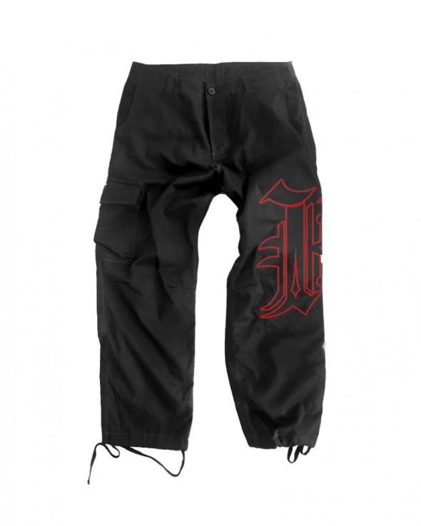 Kali King Pantaloni Cargo Black