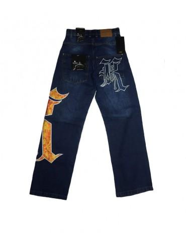 Kali King Camo Orange Jeans
