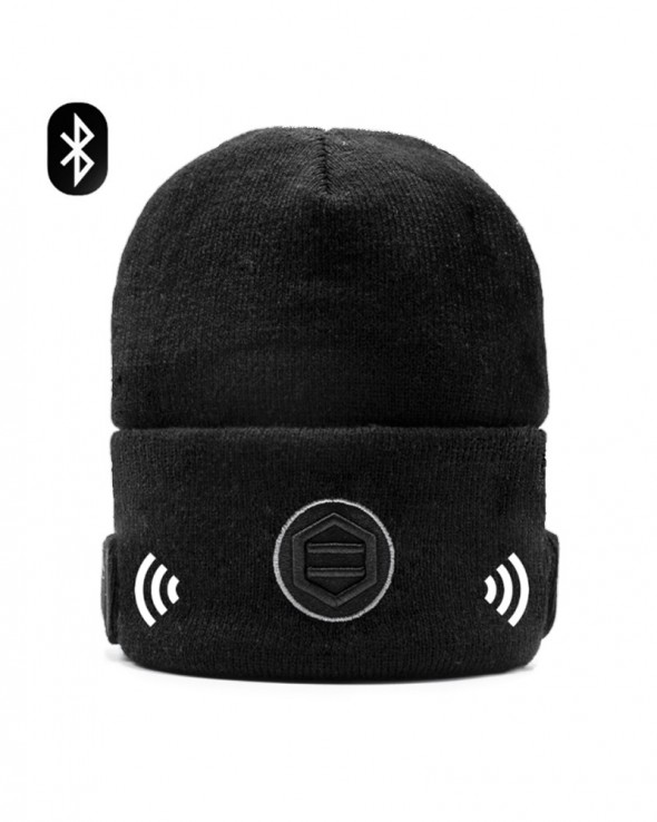 DOLLY NOIRE Bluetooth Beanie Black