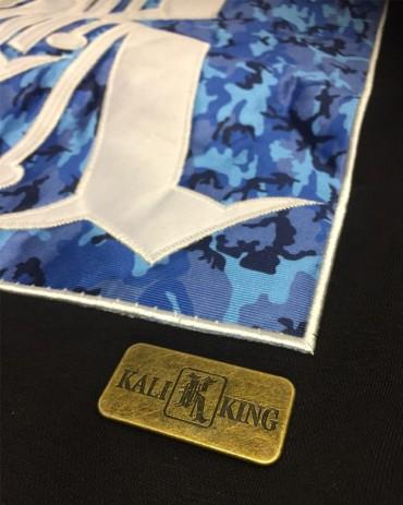 Kali King Hoodie Camo Black & Blue